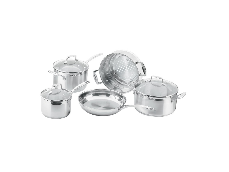 SCANPAN 22035 Impact 5 Piece Cookware Set