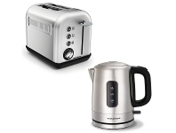 Appliances Online Morphy Richards 222010101005 Accents Stainless Steel Toaster and Kettle Pack