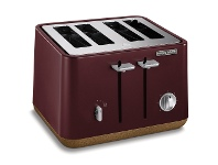 Appliances Online Morphy Richards 240017 Aspect Cork 4 Slice Maroon Toaster