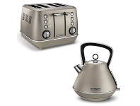 Appliances Online Morphy Richards 240103100103 Evoke Platinum Toaster and Kettle Pack