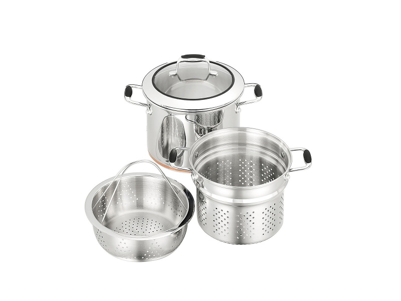 SCANPAN 26024 24cm Coppernox Multipot Set