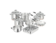 Appliances Online SCANPAN 26039 Coppernox 9 Piece Cookware Set
