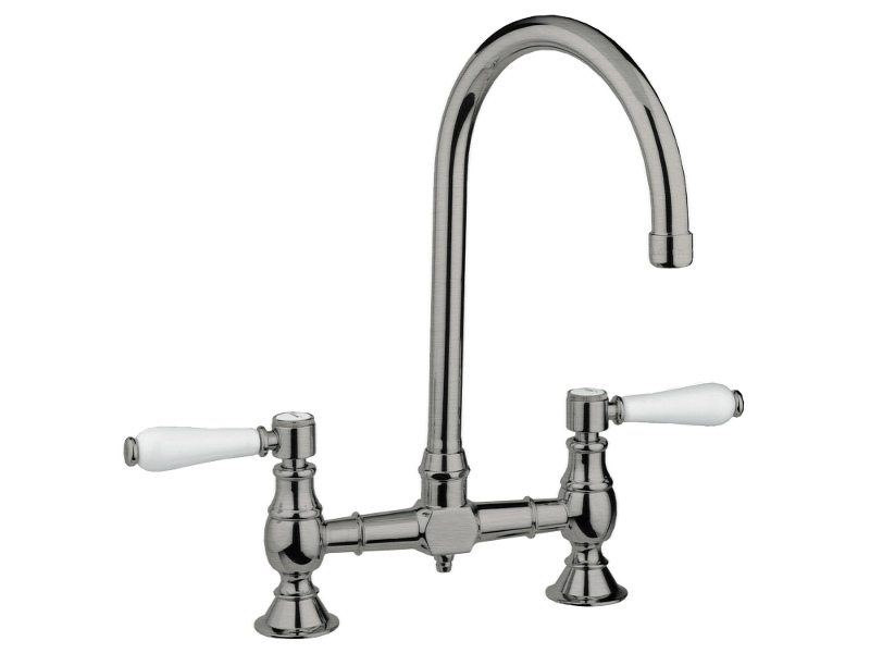 Armando Vicario 400160BN Provincial Exposed Breach Kitchen Mixer Tap