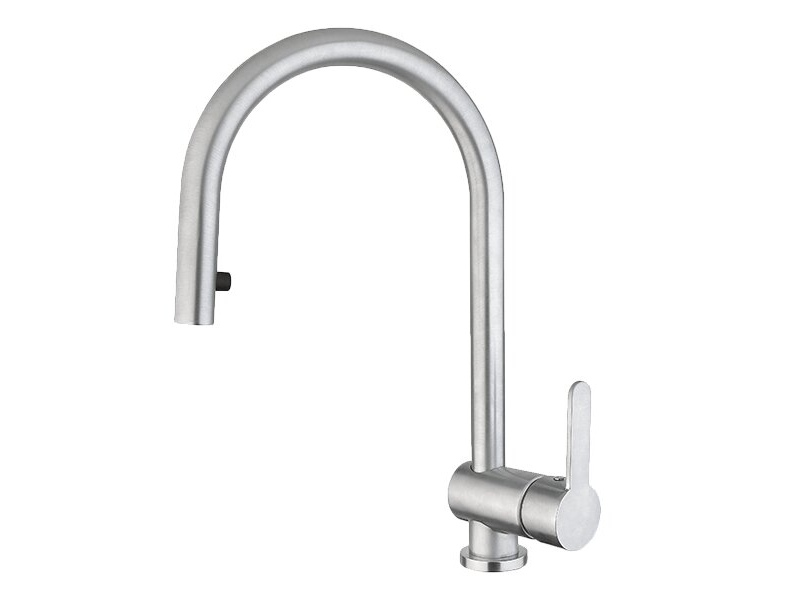Armando Vicario 400544 Mix 15D Kitchen Mixer with Pull-Out Tap