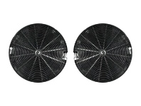 Appliances Online Westinghouse 4055093712 150mm Carbon Filter 2-pack