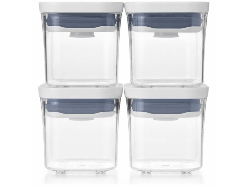 OXO 4-Piece Rectangle Container Set 48584