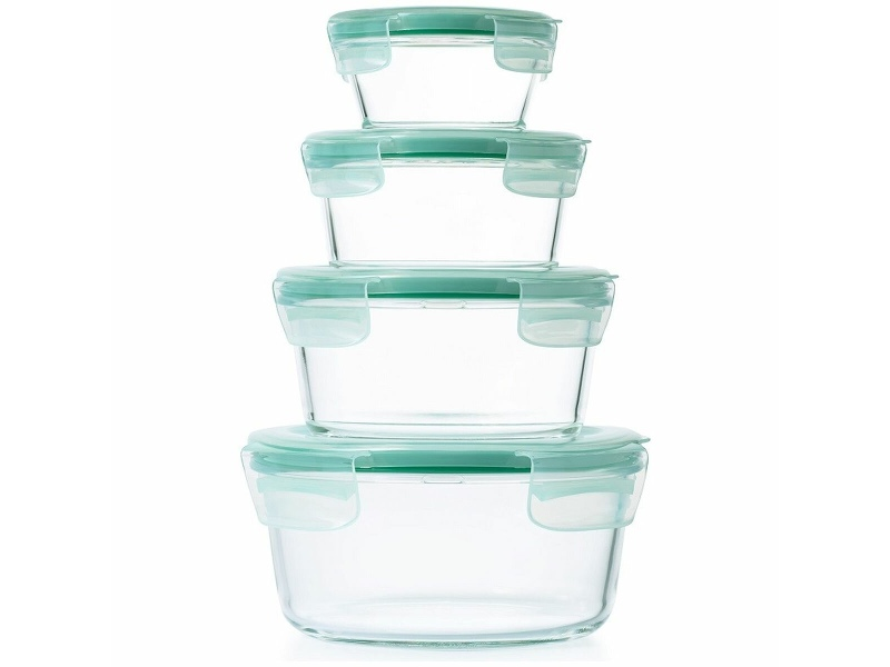 OXO 4-Pieces Round Food Container Set 48589