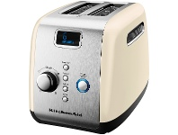 Appliances Online KitchenAid 5AKMT223AC Artisan 2 Slice Toaster Almond Cream