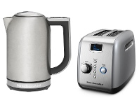 Appliances Online KitchenAid 5KEK1722ASX5AKMT223C Kettle and Toaster Pack