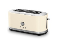 Appliances Online KitchenAid 5KMT4116AAC 4 Slice Long Slot Toaster Almond Cream