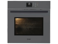 Appliances Online ILVE 60cm Grigio Lusso Pyrolytic Electric Built-In Oven 600SPYTCGV