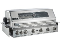 Appliances Online Smart 601WB-B 6 Burner Built-In LPG BBQ with Enclosed Hood