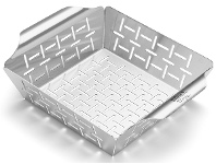 Appliances Online Weber 6481 Small Stainless Steel Grill Basket