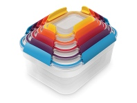 Appliances Online Joseph Joseph 81081 Nest Lock Multi-Size Food Container Set