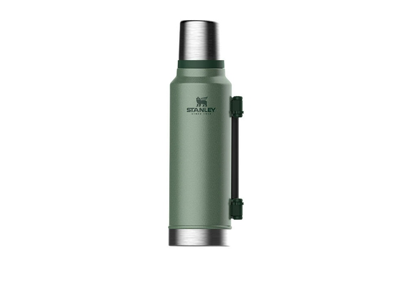 Stanley 88415 1.4L Hammertone Green Classic Insulated Vacuum Bottle