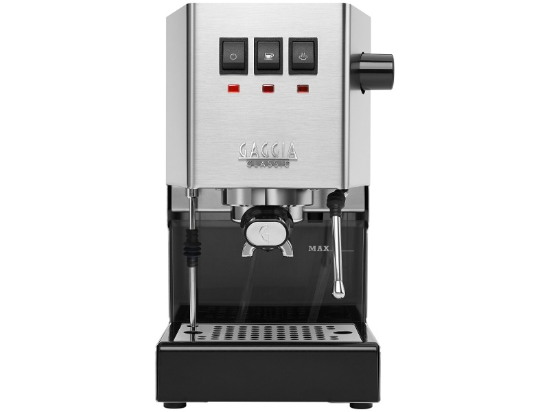 Gaggia New Classic Pro Stainless Steel Coffee Machine 886938003530