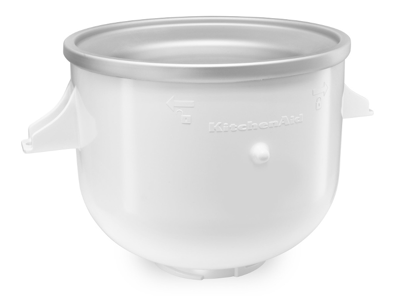 KitchenAid 5KICA0WH Ice Cream Bowl Attachment