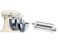 Appliances Online KitchenAid 9340590310 Artisan Almond Cream Stand Mixer and Pasta Roll