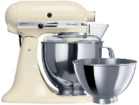 Appliances Online KitchenAid KSM160 Artisan Stand Mixer Almond Cream 5KSM160PSAAC - 93405