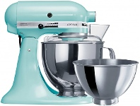 Appliances Online KitchenAid KSM160 Artisan Stand Mixer Ice Blue 5KSM160PSAIC - 93491