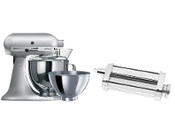 Appliances Online KitchenAid 9349990310 Artisan Contour Silver Stand Mixer and Pasta Roll