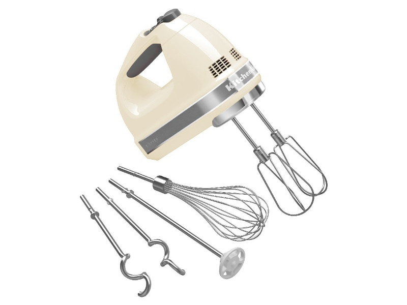 KitchenAid 5KHM926AAC Hand Mixer Almond Cream