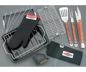 Beefeater BBQ 17 Piece Chef Kit 94897
