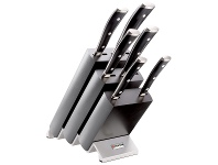 Appliances Online Wüsthof 9876W 7 Piece Classic Ikon Black Knife Block
