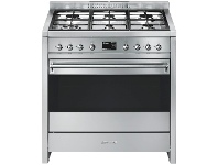 Smeg A11XPY-9 90cm Classic Aesthetic Freestanding Dual Fuel Oven/Stove