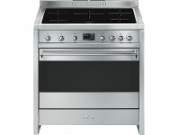 Appliances Online Smeg 90cm Classic Aesthetic Freestanding Pyrolytic Electric Oven/Stove A1PYID-9