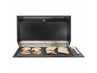 Appliances Online Artusi Built-In LPG BBQ with Hooded Lid ABBQ1B-ABHOOD