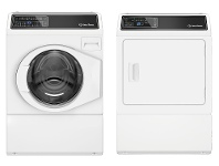 Appliances Online Speed Queen 10kg/9kg Laundry Package AFNE9BADGE8BWGASL