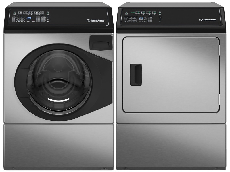 Speed Queen Washer and Natural Gas Dryer AFNE9BAN01ADGE9BGASN