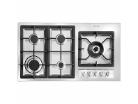 Appliances Online Artusi 90cm Gas Cooktop AGH92XFFD