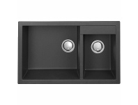 Appliances Online Artusi Granitek Series Double Bowl Sink AGS812B