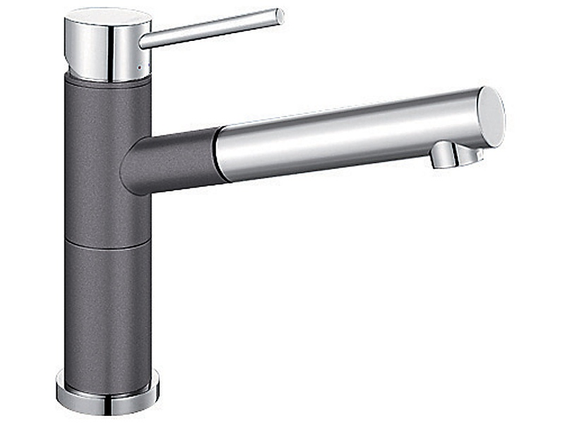 Blanco ALTASG Single Lever Kitchen Mixer Tap with Pull Out Arm