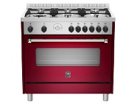 Appliances Online La Germania AMS96C71BVI 90cm Americana Series Freestanding Natural Gas Oven/Stove