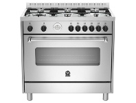 Appliances Online La Germania AMS96C71BX 90cm Americana Series Freestanding Natural Gas Oven/Stove