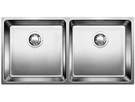 Appliances Online Blanco ANDANO400/400 Double Bowl Sink