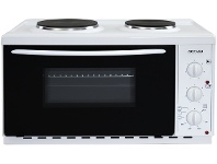 Appliances Online Artusi AOMK1 22L Vulcan Benchtop Oven with Cooktop