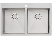 Appliances Online Oliveri AP1464 Apollo Double Bowl Sink