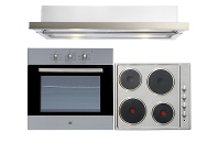 Appliances Online Arc 60cm Electric Oven & 60cm Electric Cooktop & 60cm Retractable Rangehood Pack AP6E