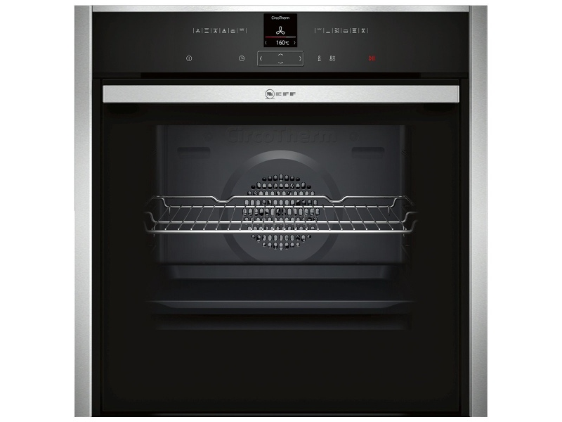 NEFF B57CR22N0B 60cm Pyrolytic Slide&Hide® Electric Built-In Oven