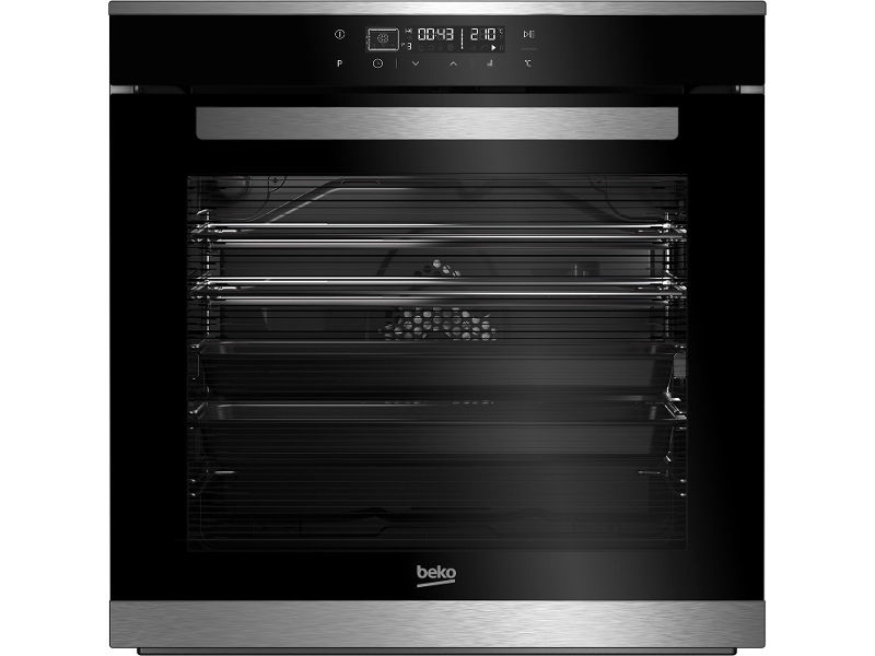 Beko BBO60B2PB 60cm Pyrolytic Built-In Oven with Side Venting