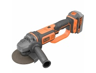 Appliances Online Black & Decker 18V Lithium-Ion Cordless Angle Grinder without Battery and Charger BCG720N-XE
