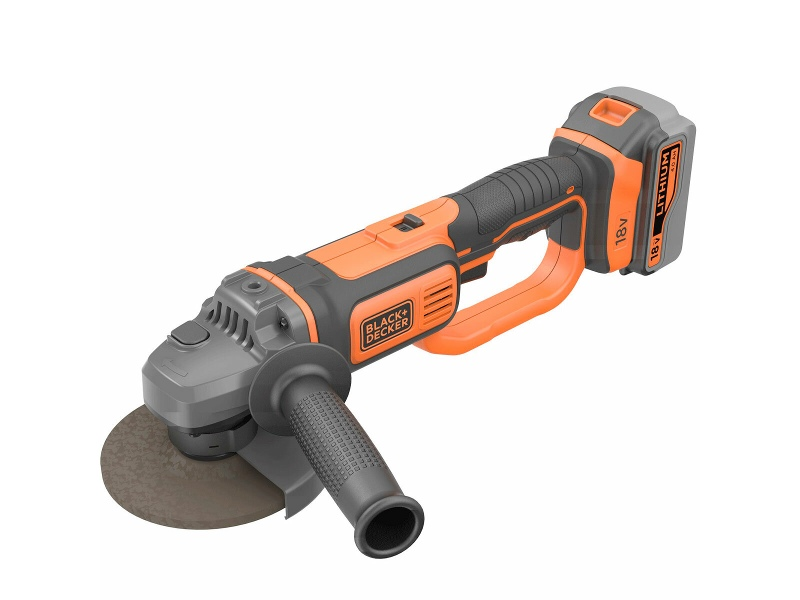 Black & Decker 18V Lithium-Ion Cordless Angle Grinder without Battery and Charger BCG720N-XE