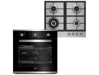 Appliances Online Beko 60cm Built In Multifunction Oven and 60cm Gas Cooktop - Cooking Pack BCPGCR1