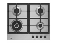 Appliances Online Beko 60cm Stainless Steel Gas Cooktop BCT60GX1