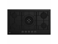 Appliances Online Beko 90cm Black Glass Gas Cooktop BCT90GG1