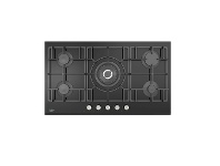 Appliances Online Beko 90cm Black Glass Gas Cooktop BCT90GG